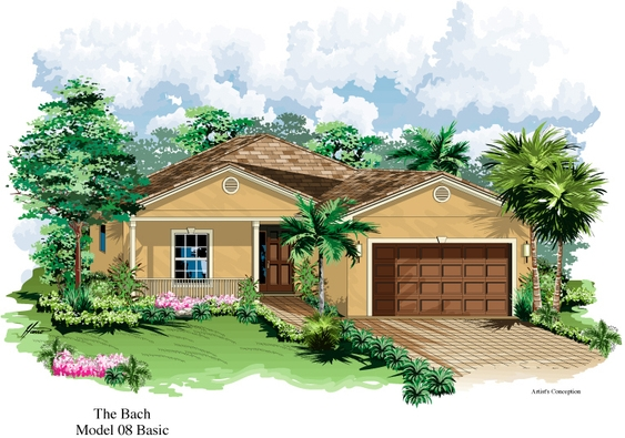 The Bach Model 08 | Florida Retirement Communities