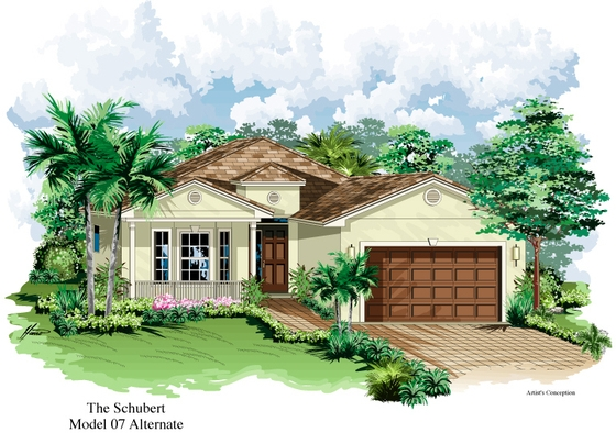 Schubert Model Alternate | Florida Retirement Communities